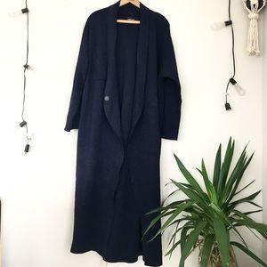 Zara Knit floor length Cardigan jacket